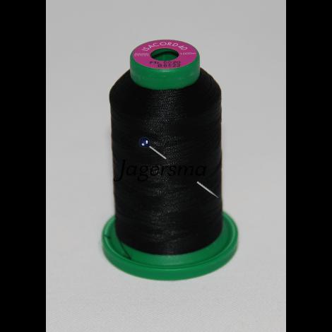 Garens Isacord 0020, PMS black 6C - 1000 meter