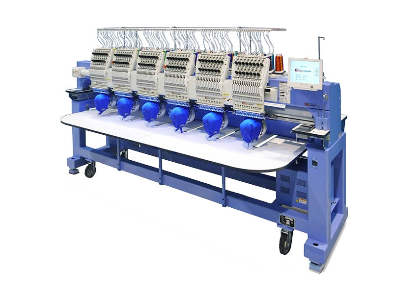 Meerkoppige borduurmachines